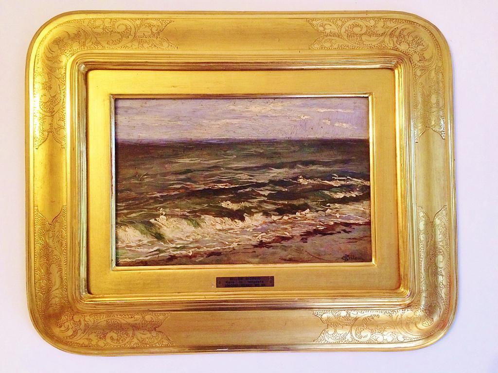 mare in tempesta - rosario marra - Olio - 1500 €