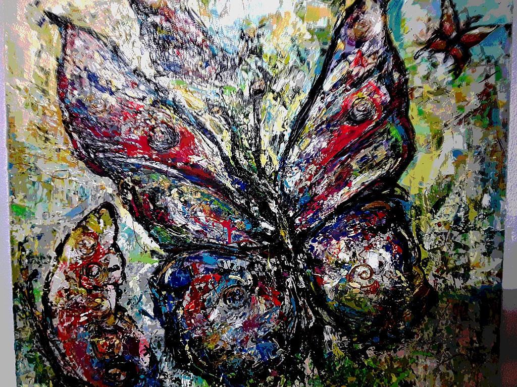 Farfalla - tiziana marra - Action painting - 420,00 €