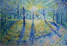 Il bosco magico - Ruzanna Scaglione Khalatyan - Acquerello - 170€