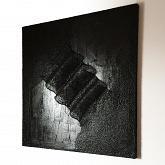 Black Tsunami - Roberto Gilli - Olio, tempera, gesso