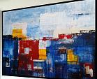 Abstract vision on the horisont - aliz polgar - Acrilico