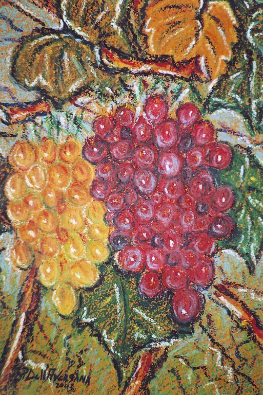 Grappoli d'uva - Pietro Dell Aversana - Olio - 95 €