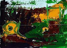 'a' terrena - daniele rallo - mista su cartoncino - 150€