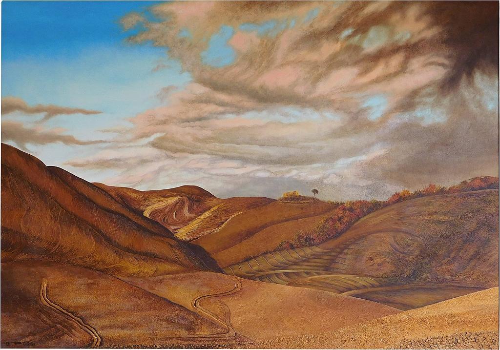 Terra Senese - Gabriella Poggi - Olio