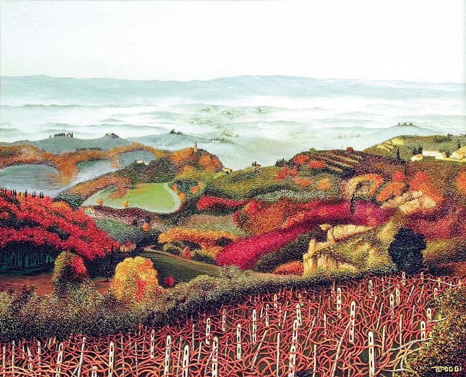 Campagna Toscana - Gabriella Poggi - Olio