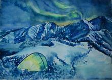 Aurora Polare - Ruzanna Scaglione Khalatyan - Acquerello
