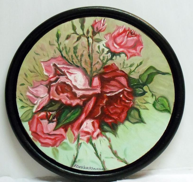 Rose - Pietro Dell Aversana - Olio
