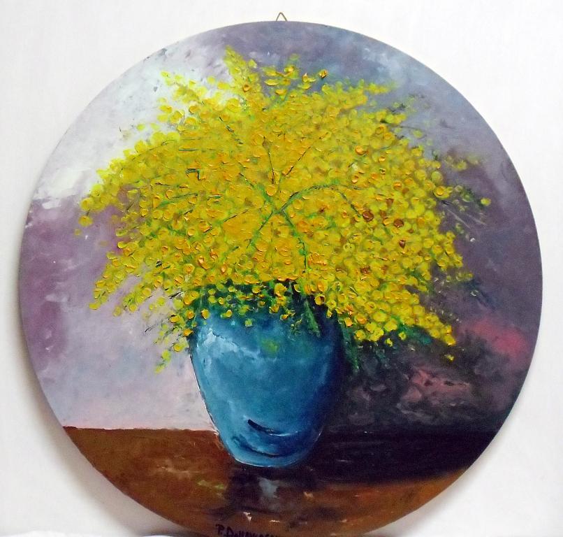 Mimose - Pietro Dell Aversana - Olio - 100 €