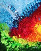 A volte le parole non bastano, ed allora servono i colori  - Carla Colombo - Acrilico - 500€