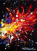 esplosione cromatica - Paolo Benedetti - Acrilico - 50€