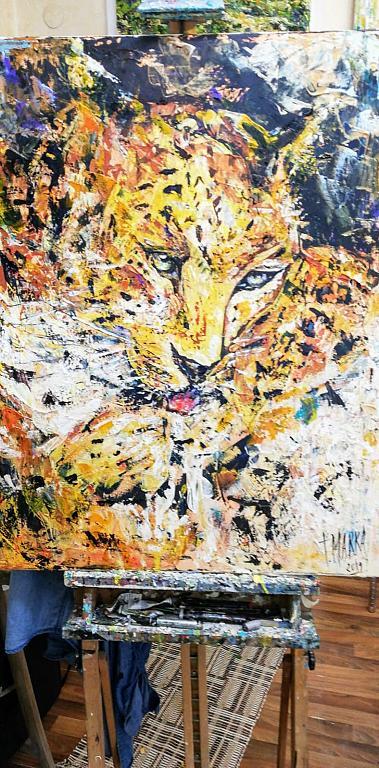 Giaguaro - tiziana marra - Action painting - 520,00 €