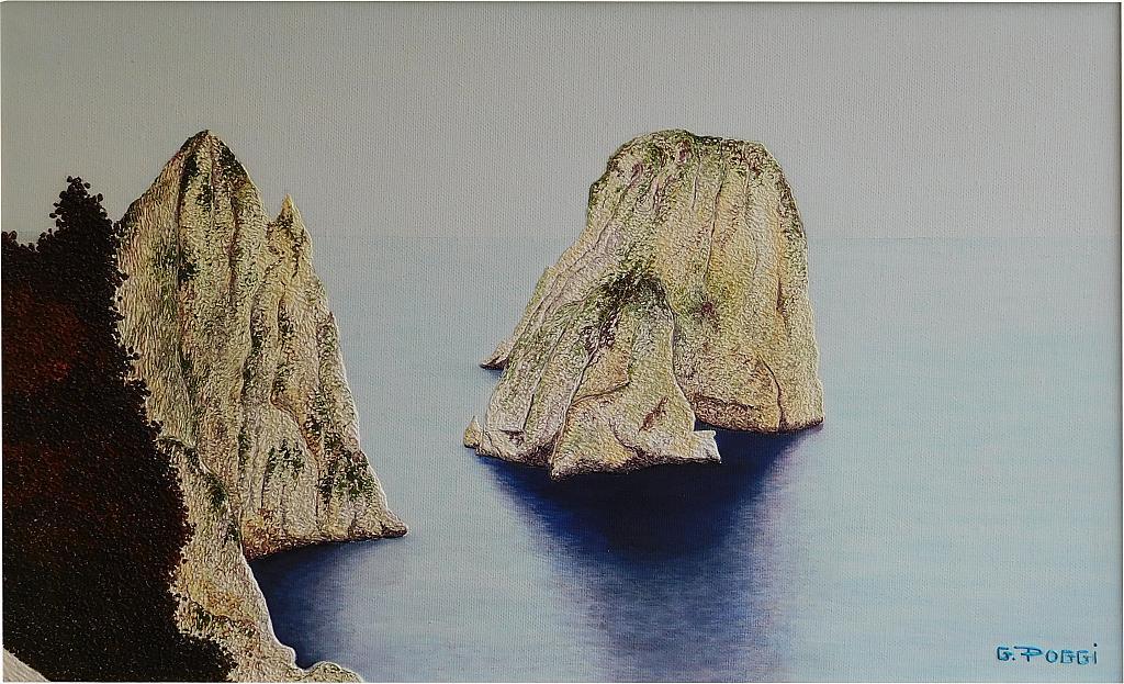 Faraglioni di Capri  - Gabriella Poggi - Olio