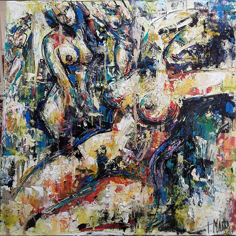 Universo Femminile - tiziana marra - Action painting - 350,00 €