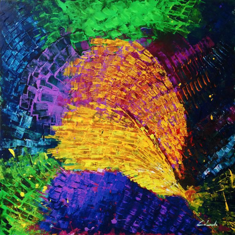 A volte le parole non bastano ed allora servono i colori 3  - Carla Colombo - Acrilico
