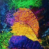 A volte le parole non bastano ed allora servono i colori 3  - Carla Colombo - Acrilico - 800€