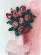 Rose su rosa - Gabriella Poggi - Olio - Venduto!