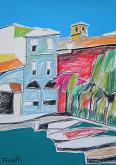 Desenzano del Garda - Gabriele Donelli - Pastello e acrilico - 300€