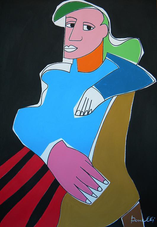 Ritratto di Dora Maar - Gabriele Donelli - Acrilico - 400 €