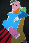 Ritratto di Dora Maar - Gabriele Donelli - Acrilico - 400€