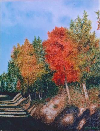 Colori d'autunno  - Gabriella Poggi - Olio