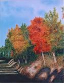 Colori d'autunno  - Gabriella Poggi - Olio - Venduto!