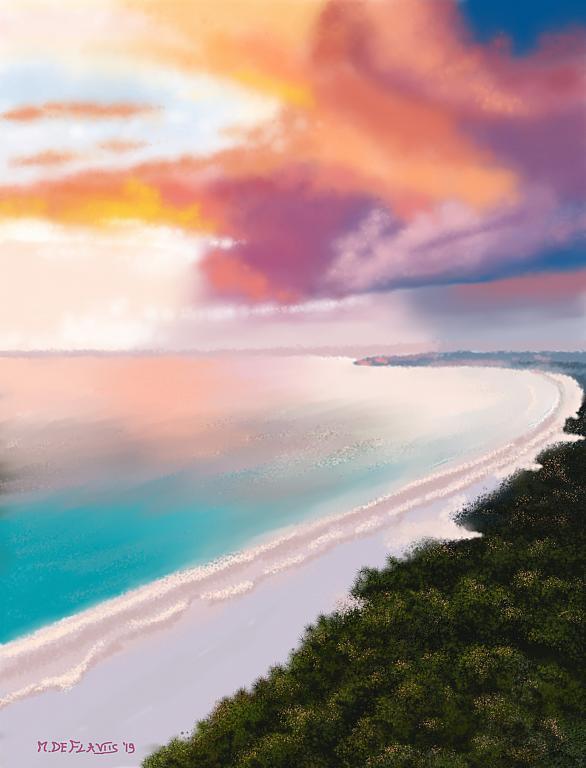 Cielo e mare - Michele De Flaviis - Digital Art