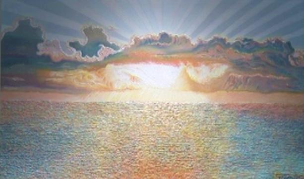 Dolce tramonto - Gabriella Poggi - Olio