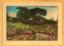 Giardino delle rose - Gabriella Poggi - Olio