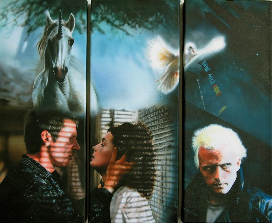 Blade Runner - Simona Zecca - Aerografo -  €