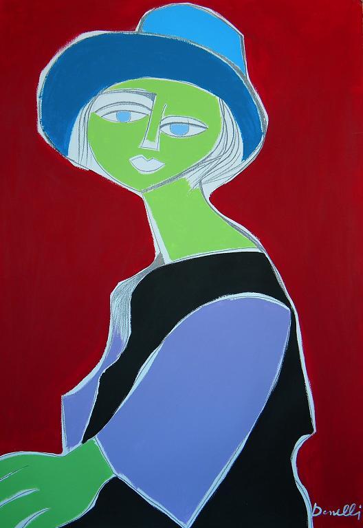 Ritratto di Marie - Terese Walter - Gabriele Donelli - Acrilico - 1200 €