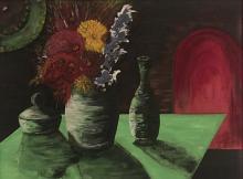 Fiori - Dalido Gino Marini - Acrilico olio e siliconi - 500€