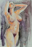 Doccia - Eve Mazur - Acquerello - 80€
