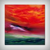 Sky Element II, 60x60 cm - Davide De Palma - Olio - € - Venduto!