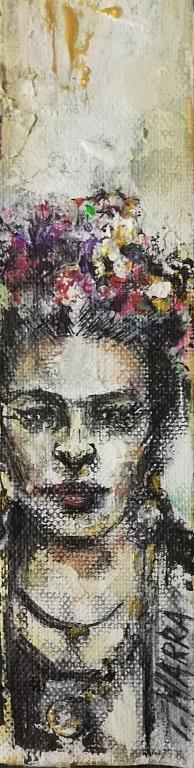 Frida segnalibro - tiziana marra - Acquerello