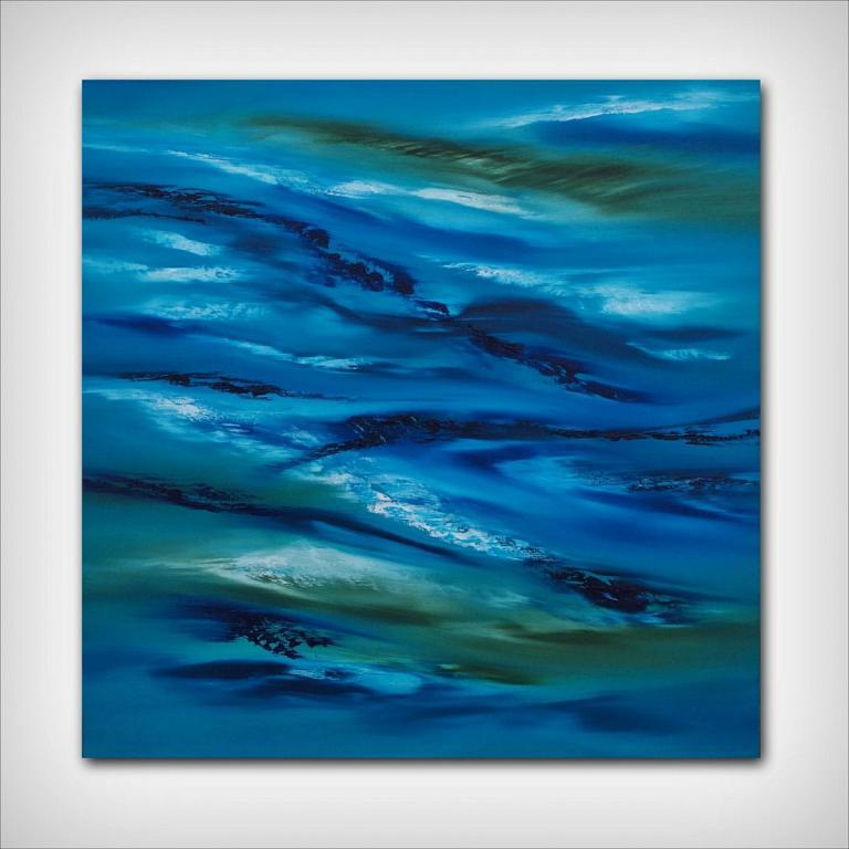 Sky Element III, 60x60 cm - Davide De Palma - Olio - 250 €