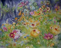 Soffio di primavera  - Ruzanna Scaglione Khalatyan - Acquerello