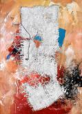 Composizione con filo nero - Paolo Benedetti - Acrilico - 350€