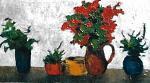I colori nel vaso - mario fanconi - Olio