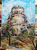 Castello Aragonese - tiziana marra - Tecnica mista - 350,00€