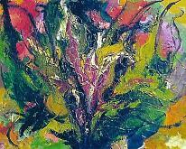 giardino incantato - mario fanconi - Olio