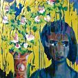 fiori esotici - mario fanconi - Olio