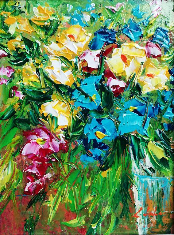 Gioia di primavera  - Carla Colombo - Acrilico - 220 €