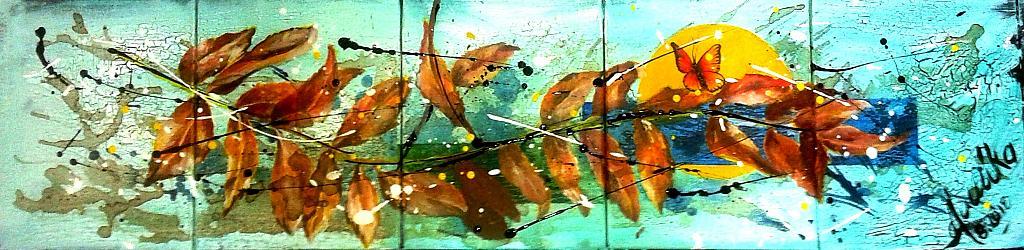 Soft autunno - anna casu - Acrilico