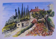 Montignano3 - anna casu - Acquerello