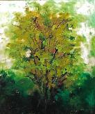 albero da sogno - mario fanconi - Olio
