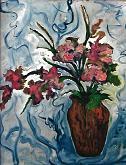 fantasia di fiori - mario fanconi - Olio