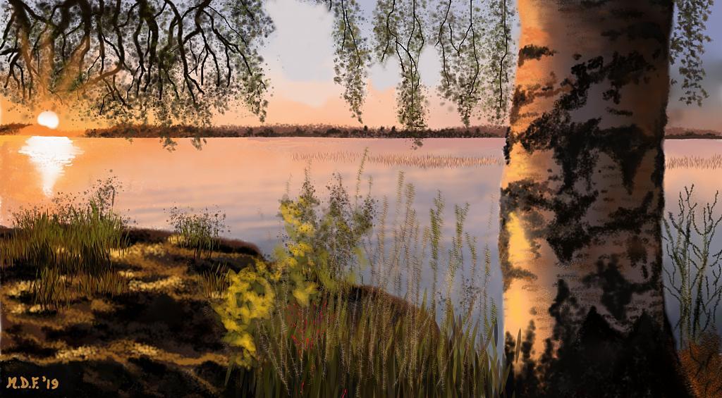 Paesaggio finlandese  - Michele De Flaviis - Digital Art