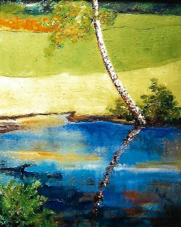 Caldo autunno - mario fanconi - Olio