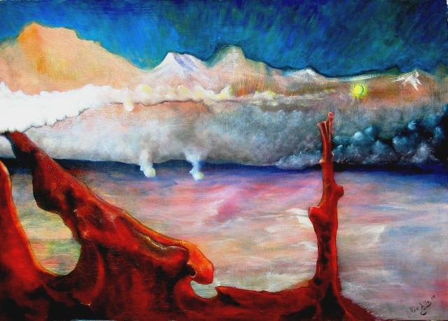 paesaggio dell'inconscio - daniele Rallo  - mista - 200 €