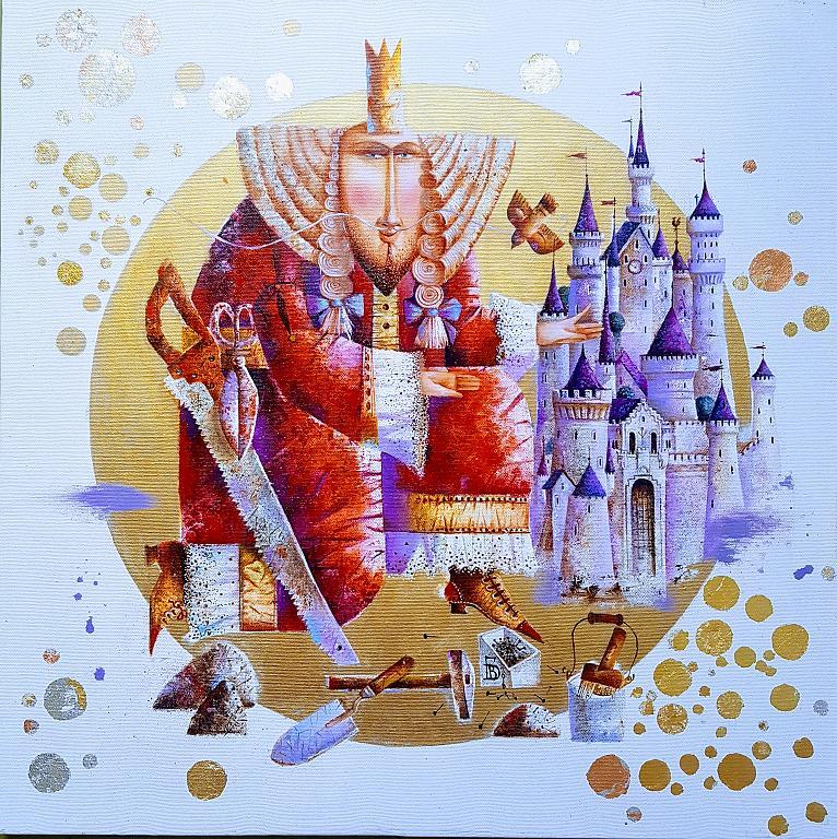 Ti regalerò un regno    - Viktoriya Bubnova - Olio - 250 €